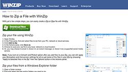 winzip for windows zip file