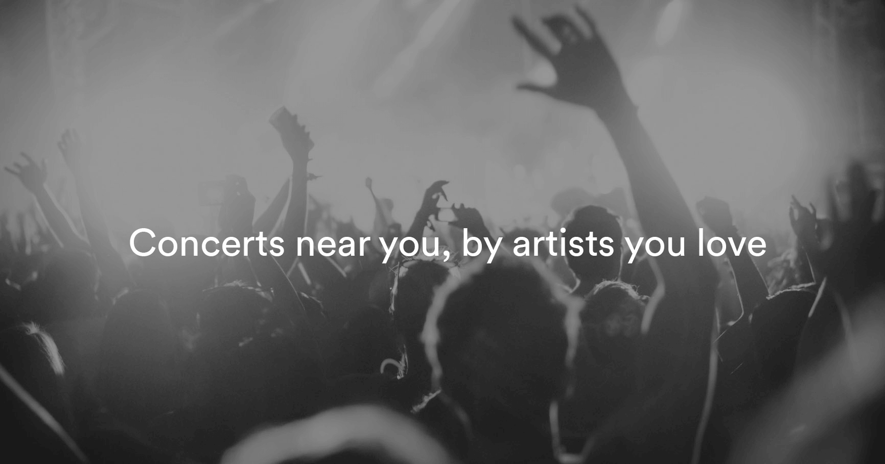 discover concerts near you on spotify