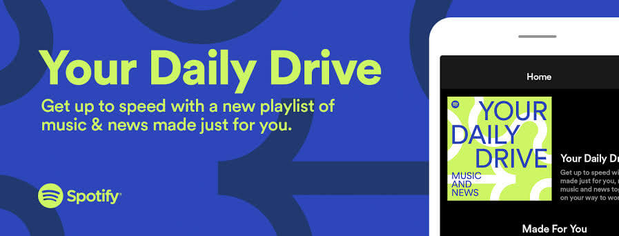 your daily drive with music