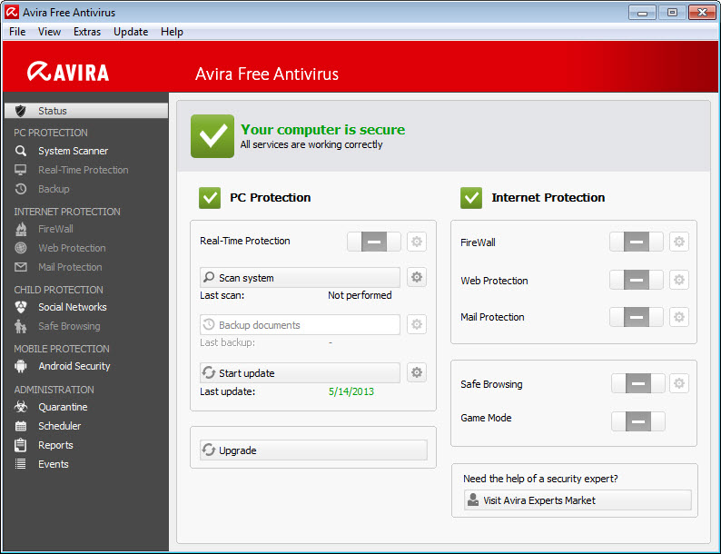 avira for pc