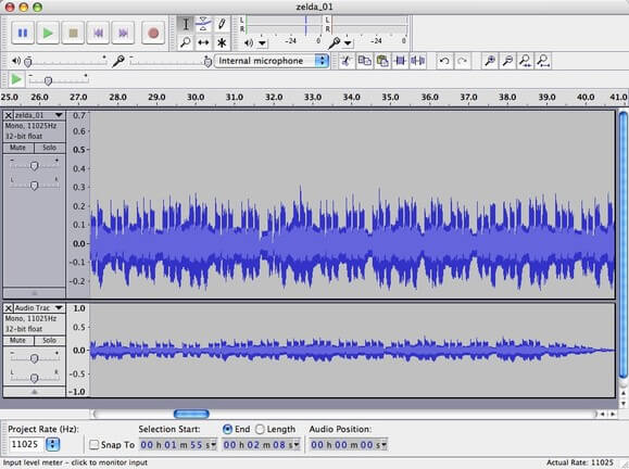 Audacity Sound Record