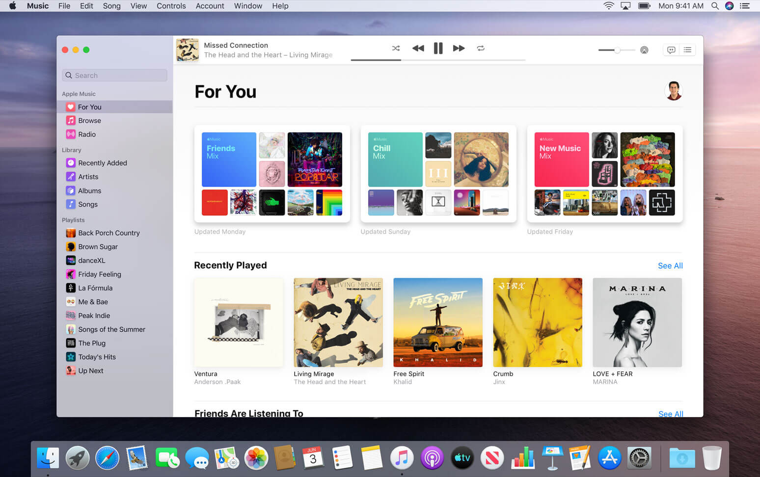 macOS-Catalina-Music-app