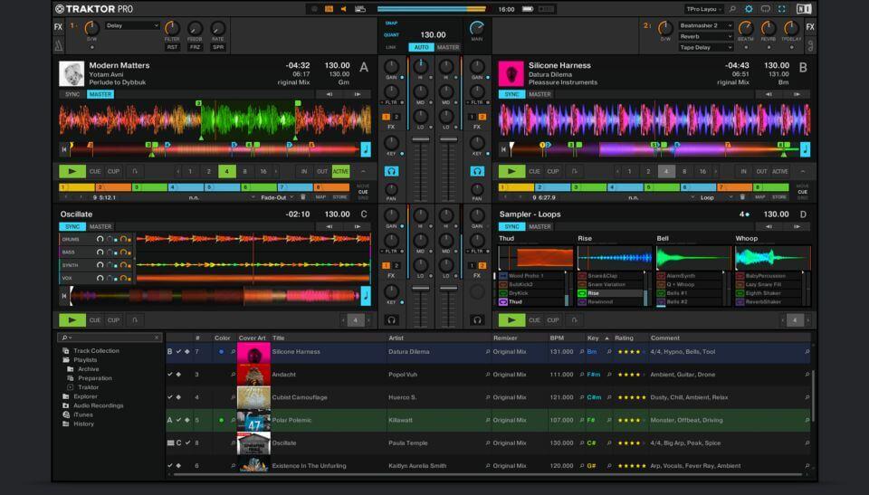 traktor_pro_3 DJ Mixer App