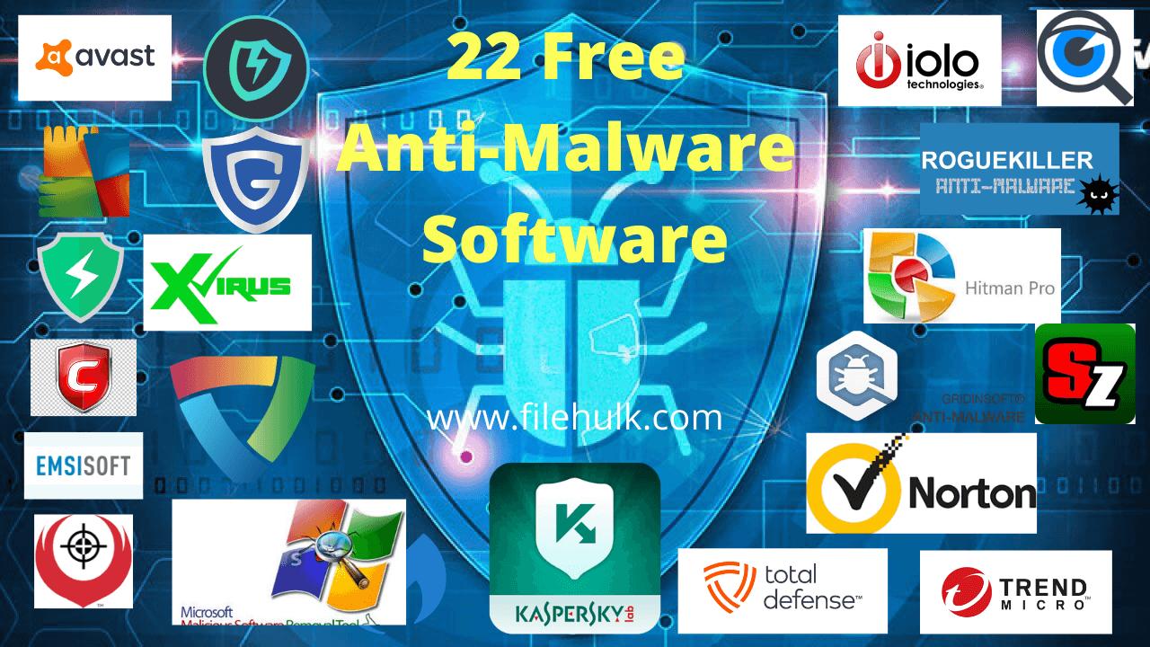 best Anti-Malware Software 2020