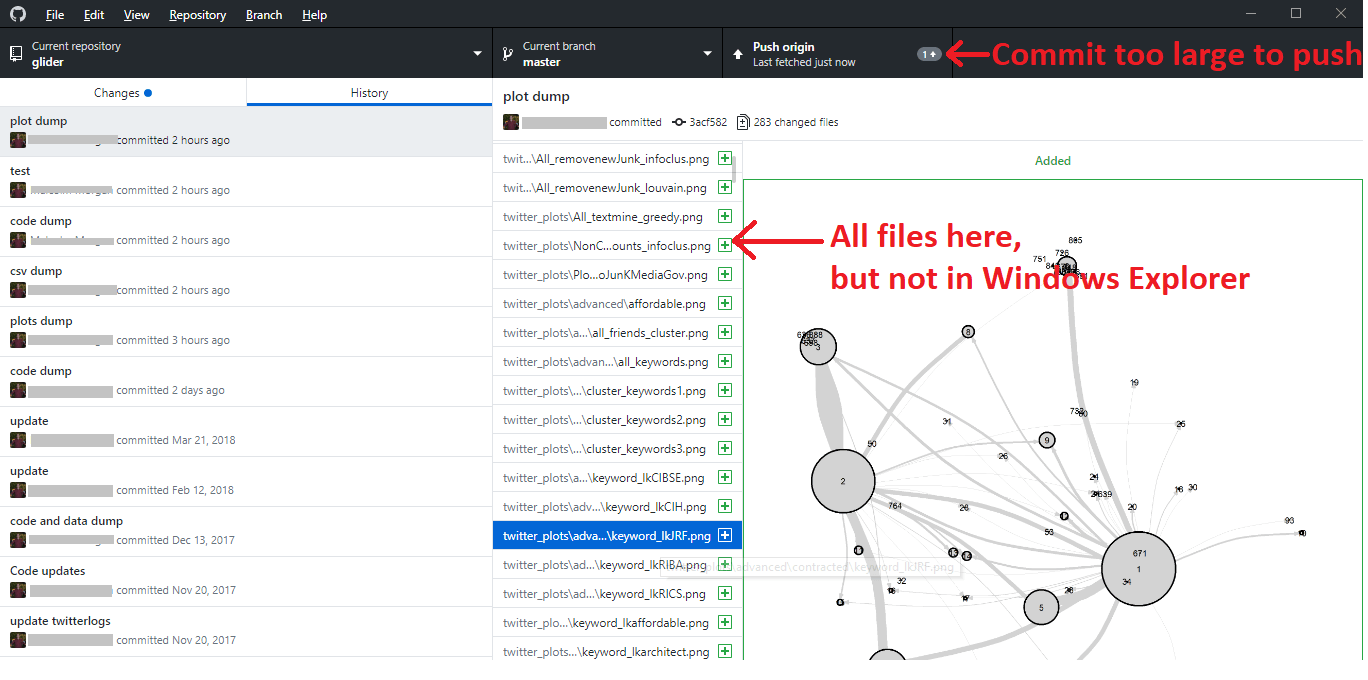 Checks all files in GitHub