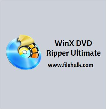 WinX DVD Ripper Platinum Free Download