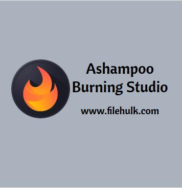 Ashampoo Burning Studio Software For PC