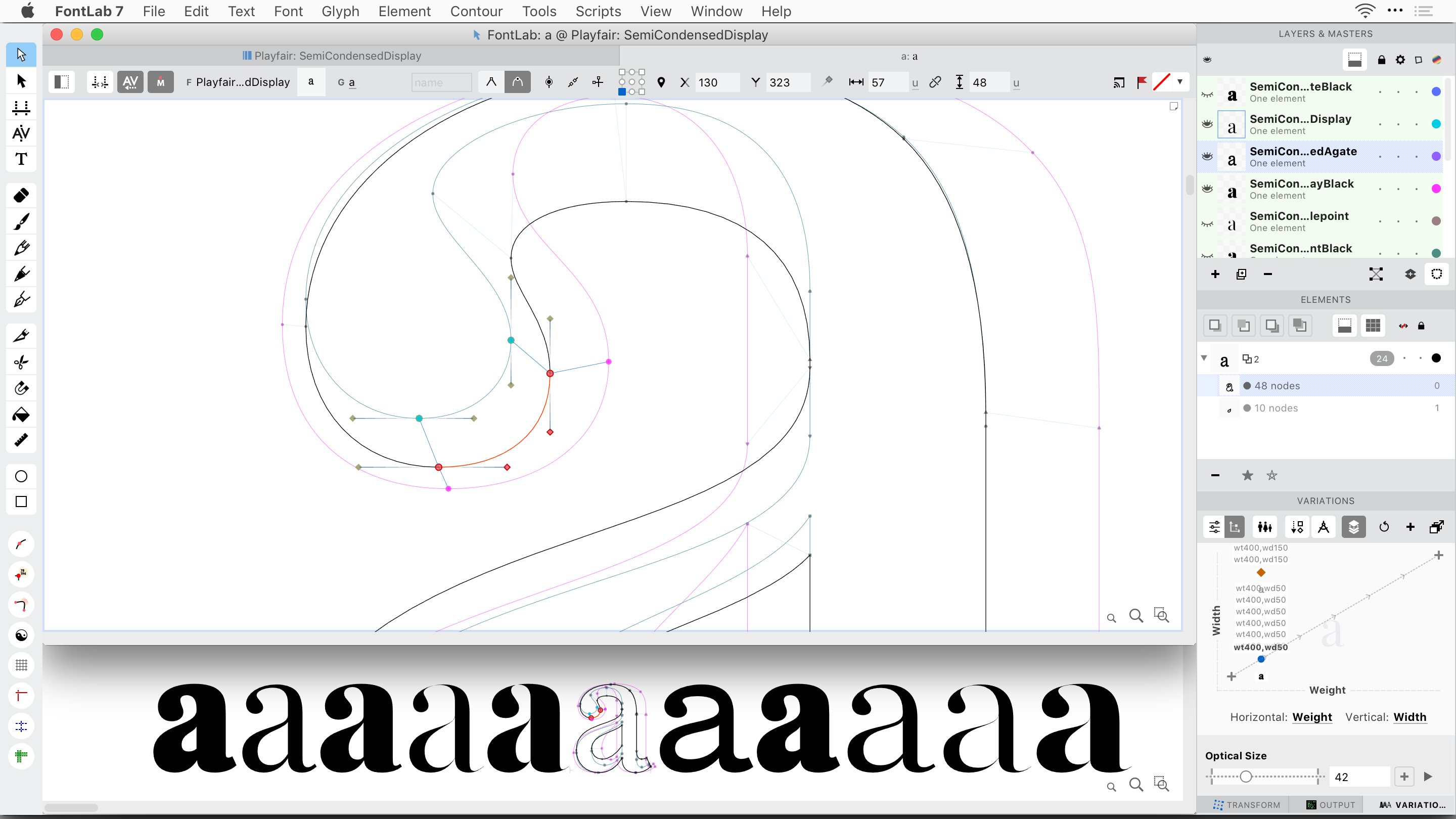 FontLab For Mac Editor