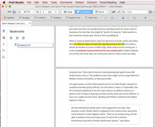 Foxit Reader For Mac