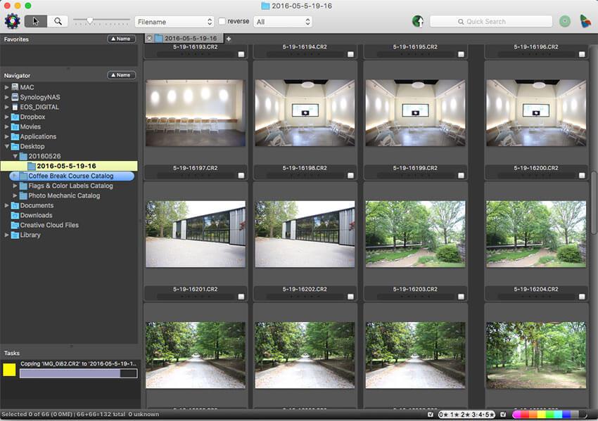 Photo Mechanic Creation for image browser tool