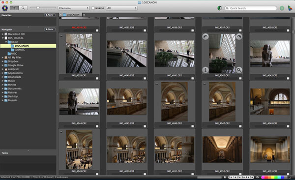 Photo Mechanic For Edit Photos of image browser tool