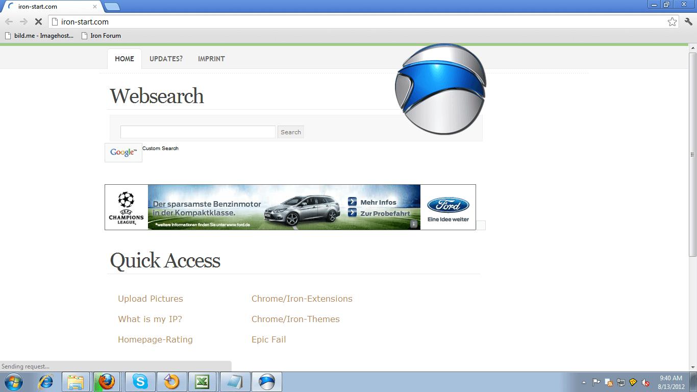 SRWare Iron web Browser