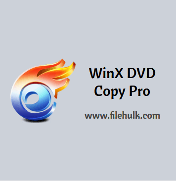 WinX DVD Copy Pro Software For PC
