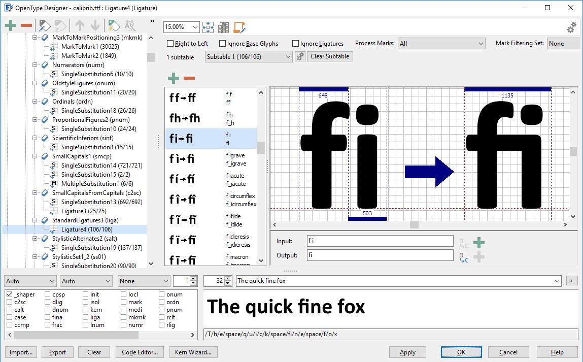 set correct letter