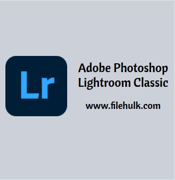 Adobe Photoshop Lightroom Classic Software For PC