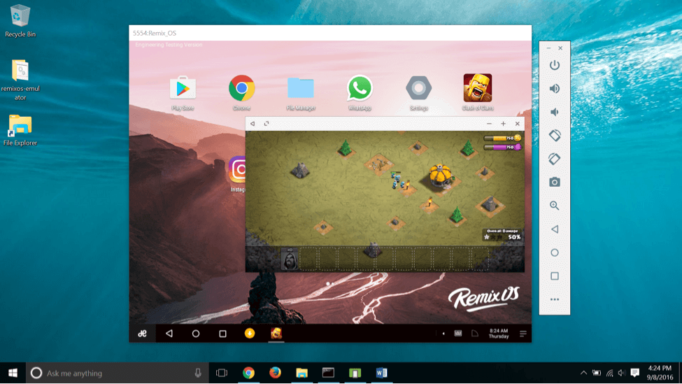 Remix OS Player To Play Games