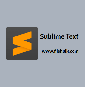 Sublime Text Editor For PC