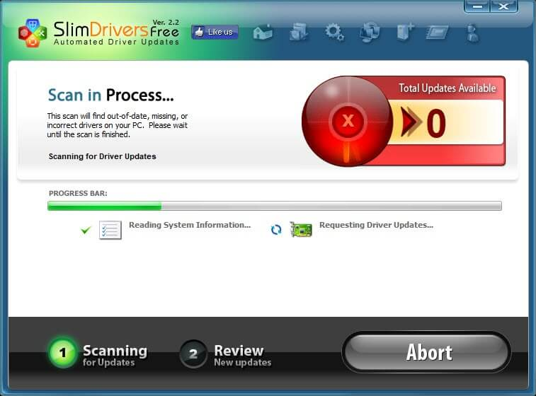 Scan Drivers To Update PC Driver