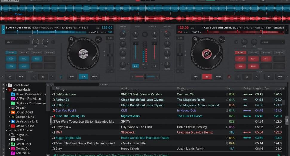 Virtual DJ To Play Music