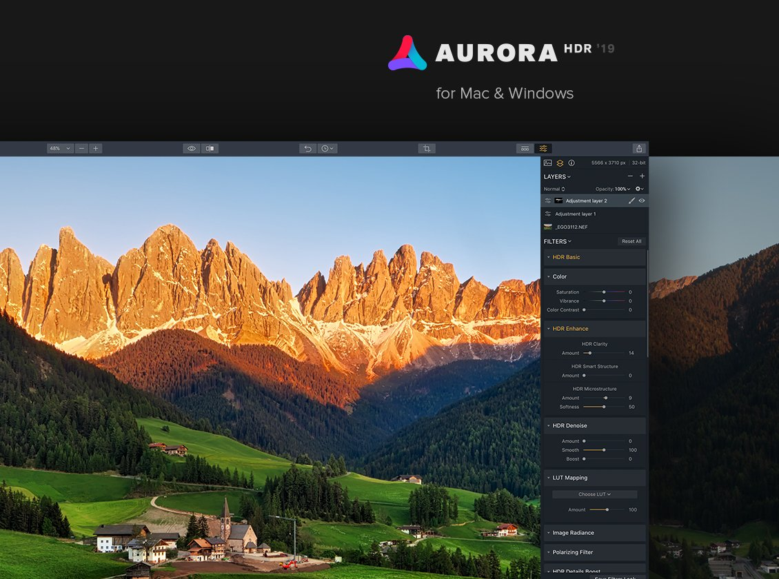Aurora hdr software
