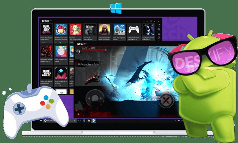 Best free App for Deskify-Android-Emulator