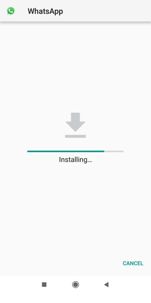 GB WhatsApp install and open