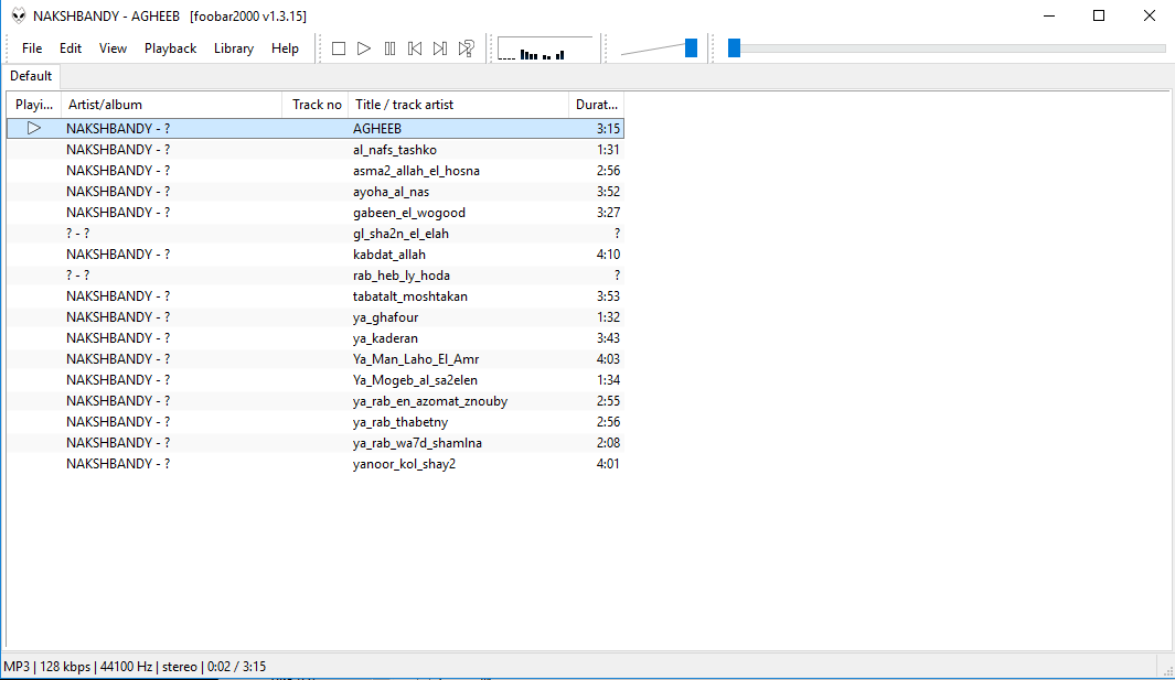 Foobar2000Free Music Player installation